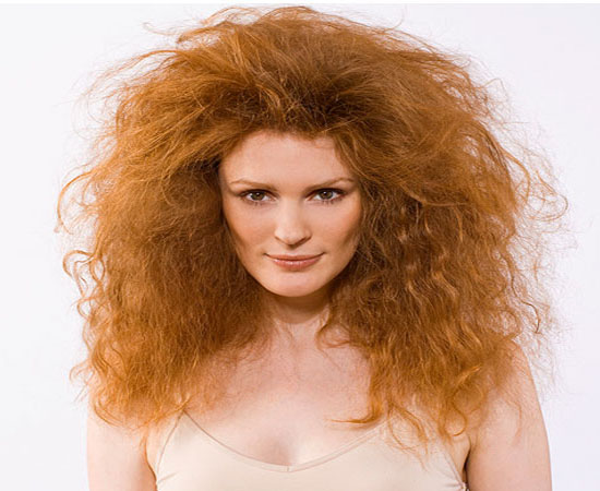 Dry and Frizzy hair 1