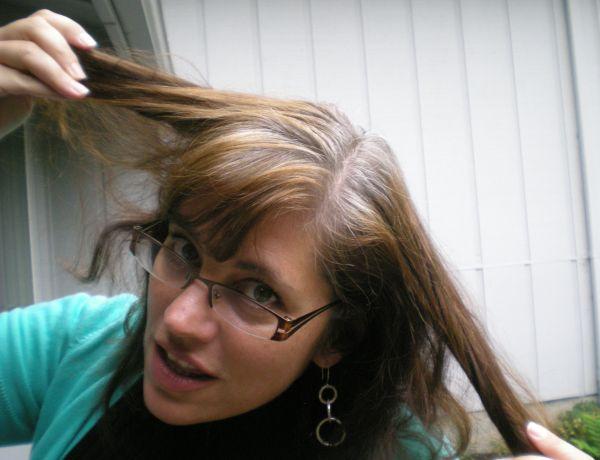 Fight gray hair