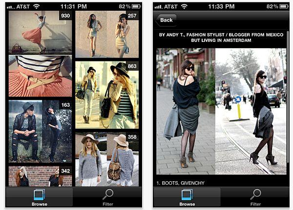 Lookbook Browser