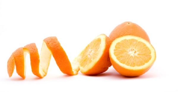 Orange peel face mask