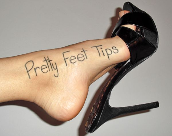 Pretty feet tips to prevent cracked feet
