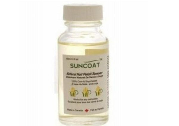 Suncoat  Natural Nail Polish Remover