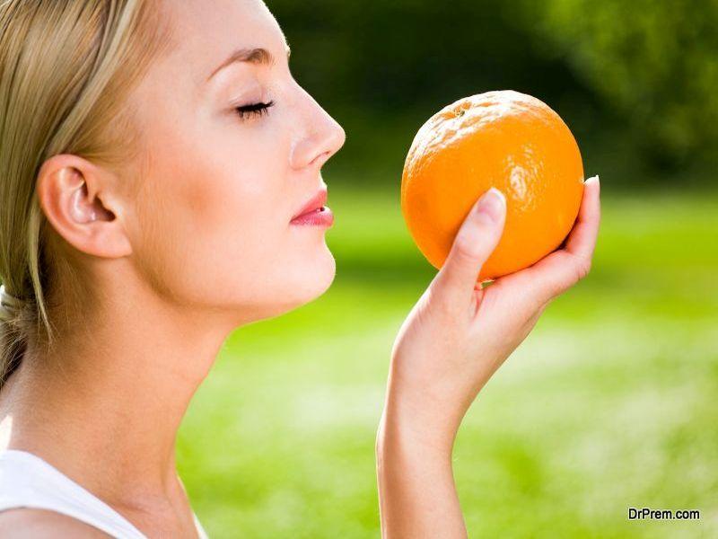 Use of Orange Peels