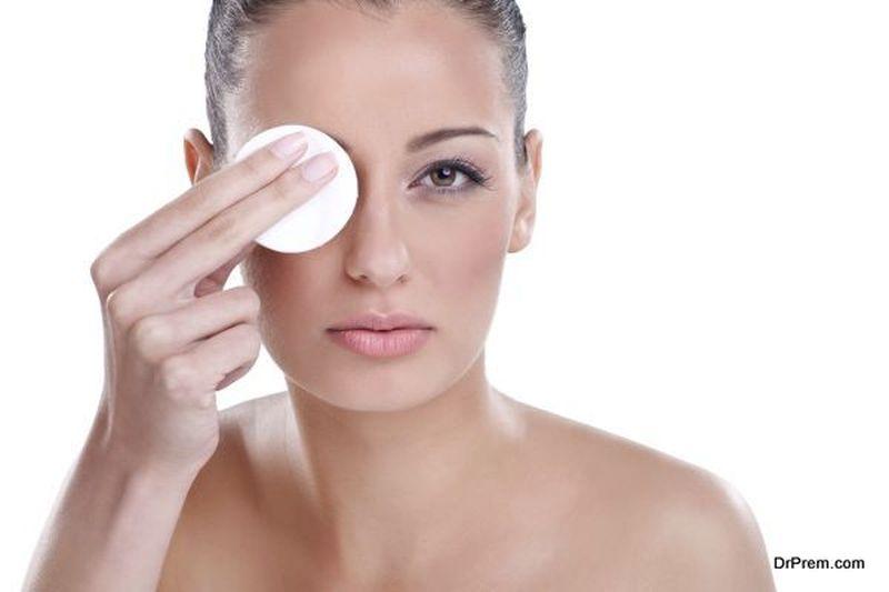 removing make-up