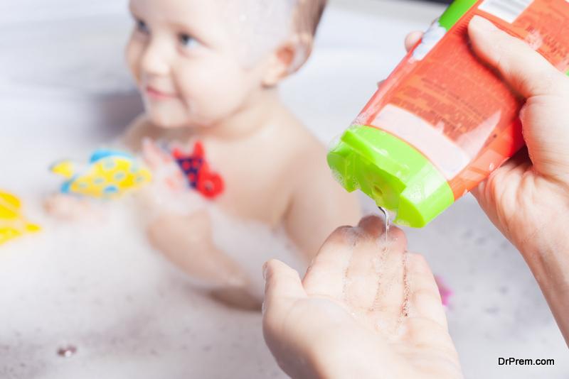 Using-baby-shampoo