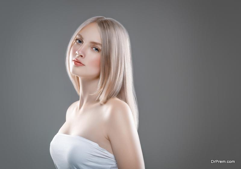 Platinum-blonde