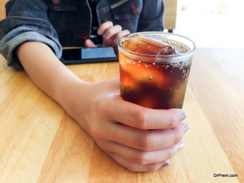 cutting out soda