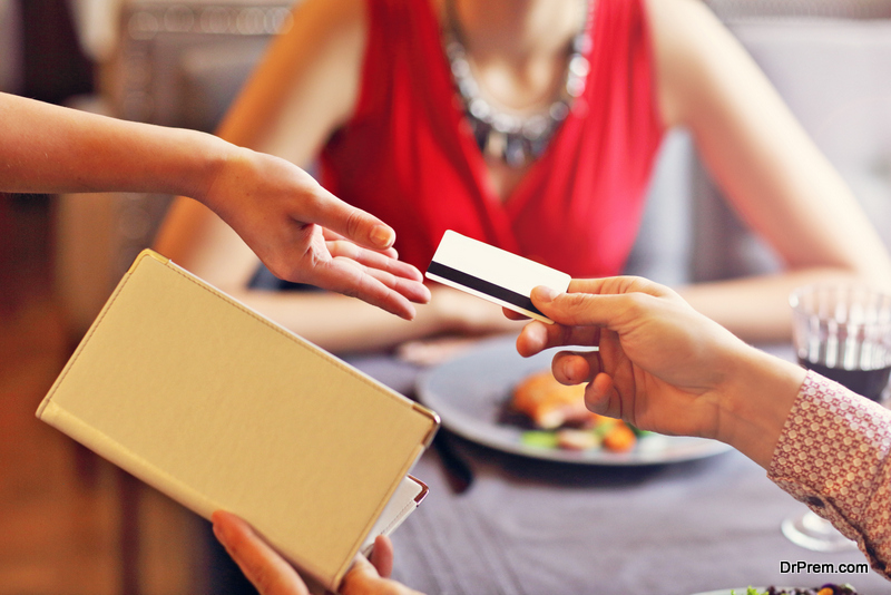 restaurant bill payment