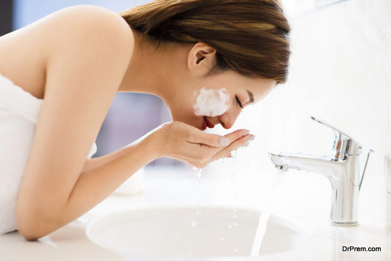 Wash Your Face Before Heading to Bed