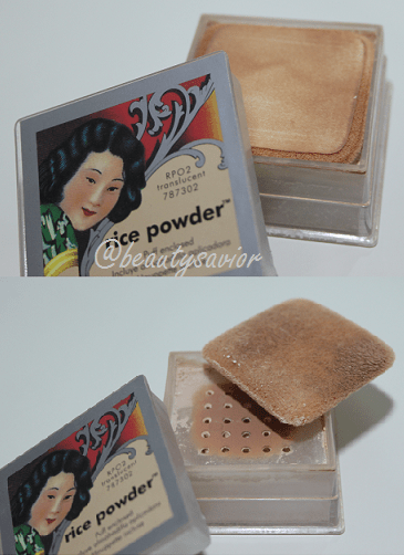 Palladio Rice Powder in RP02 Translucent