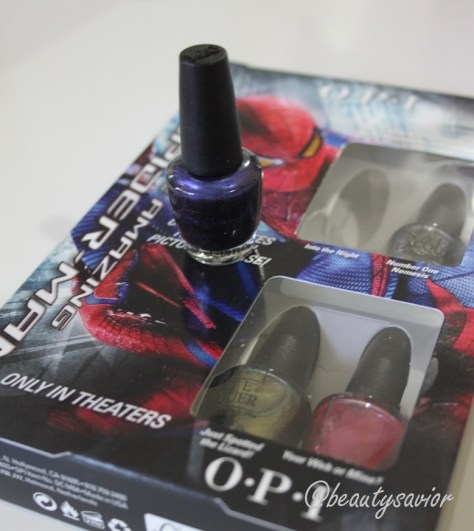 The Amazing Spider-Man Mini Nail Lacquer Collection
