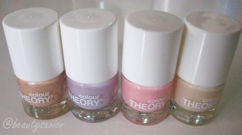 Colour Theory Pastels
