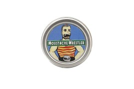 Hisper style Cera da baffi Mustache Wrestler