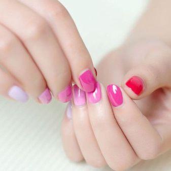 manicure-pink