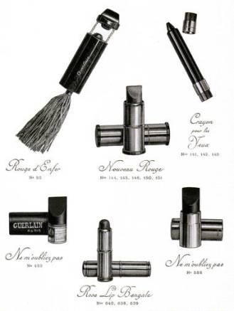 Catalogo di Guerlain degli anni '30