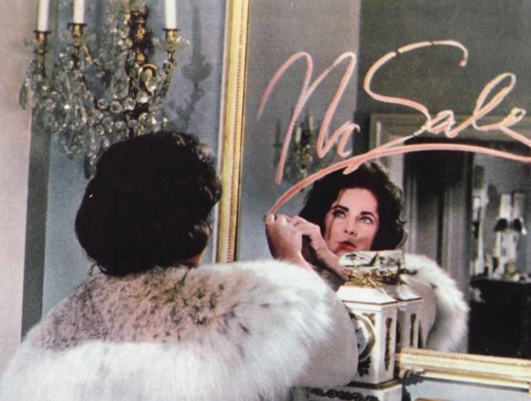 """Elizabeth Taylor in """"Venere in Visone"""""""