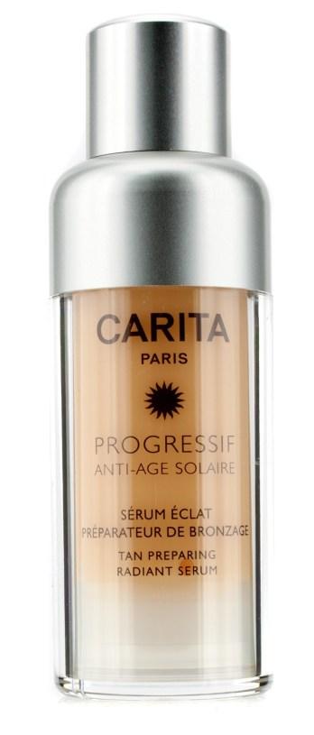 solari-Carita-Progressif -Anti-Age-Solaire -Tan-Preparing Radiant Serum