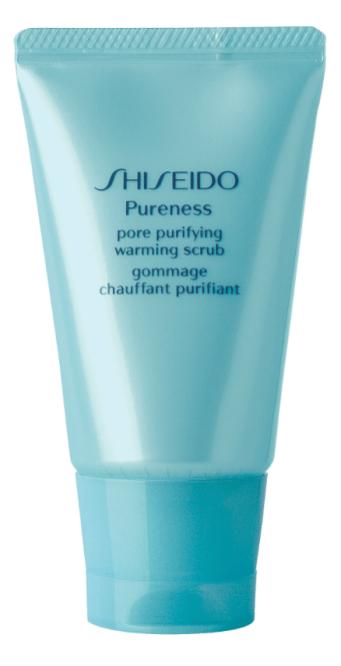makeup-giovanissime-shiseido-PORE PURIFYING WARMING SCRUB