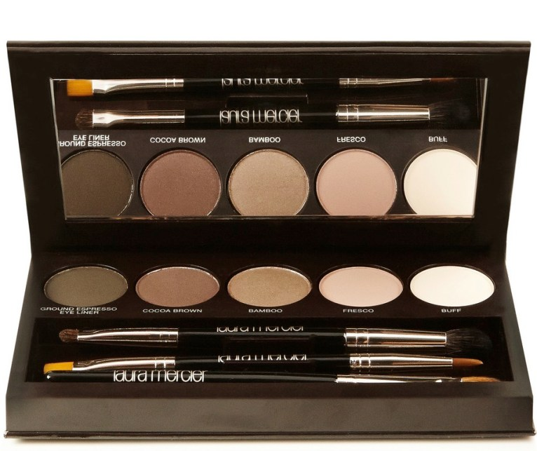 makeup-nude-laura mercier nude smoky eye palette