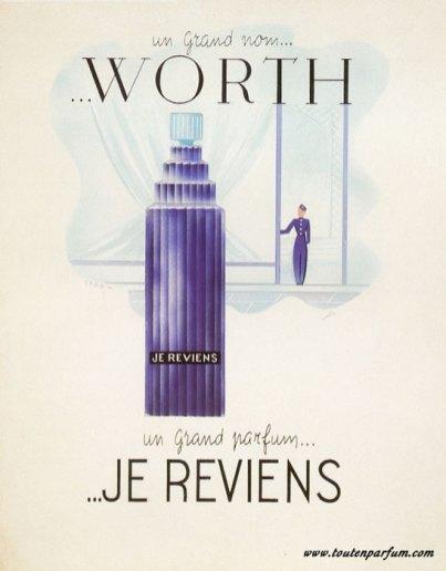 Gérald-Ghislain-histoires-de-parfums-questionario-olfattivo-worth je_reviens 1952