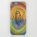 The Eternal Now Painting Background_iphone case mockup