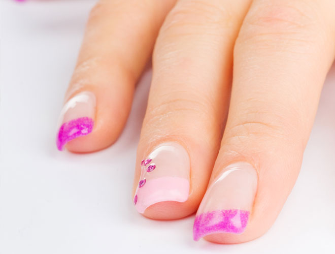 How To Apply False Nails At Home