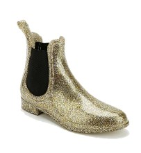 Stomping the rain in glitter & pizzazz