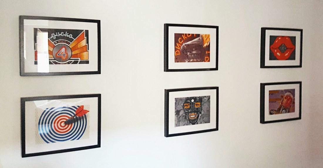 Обложки на грамофонни плочи като идея за интериора.