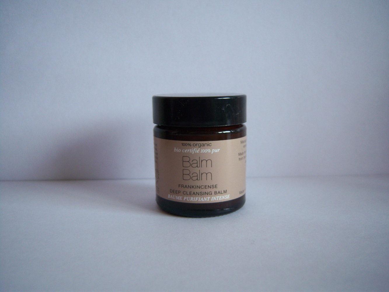 Balm Balm ~ Frankincense Deep Cleansing Balm Review