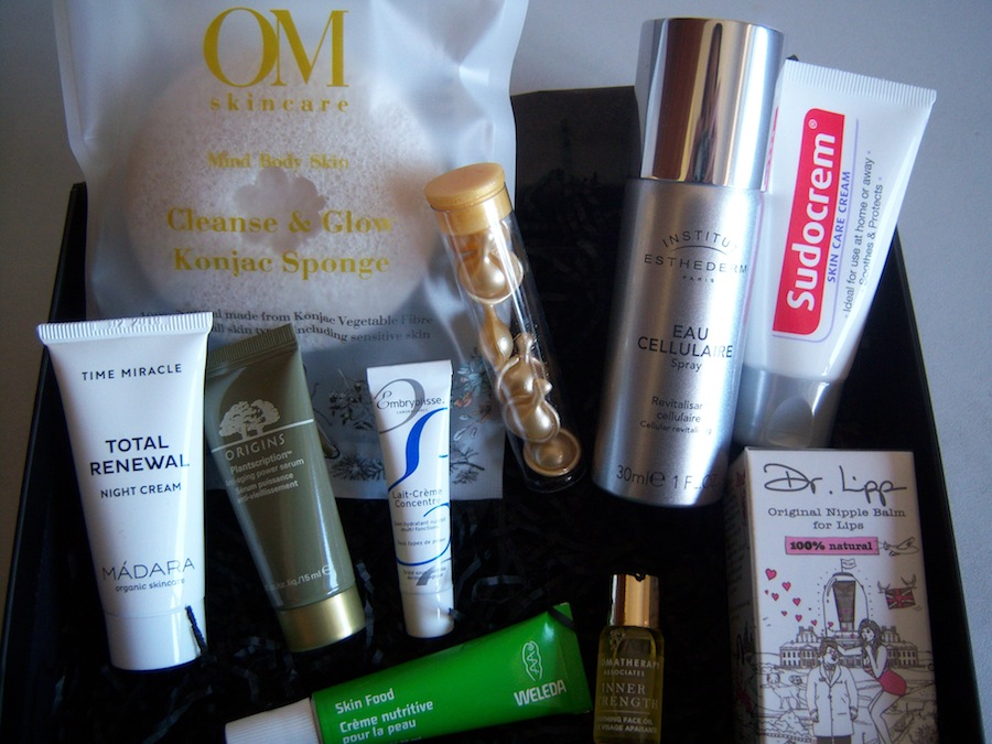 The Red Skincare Edit Beauty Box Review