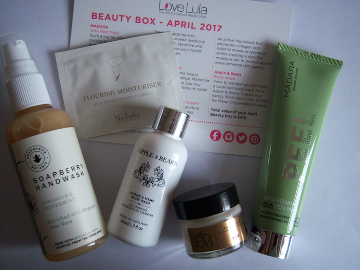 LoveLula Beauty Box ~ April 2017 Review