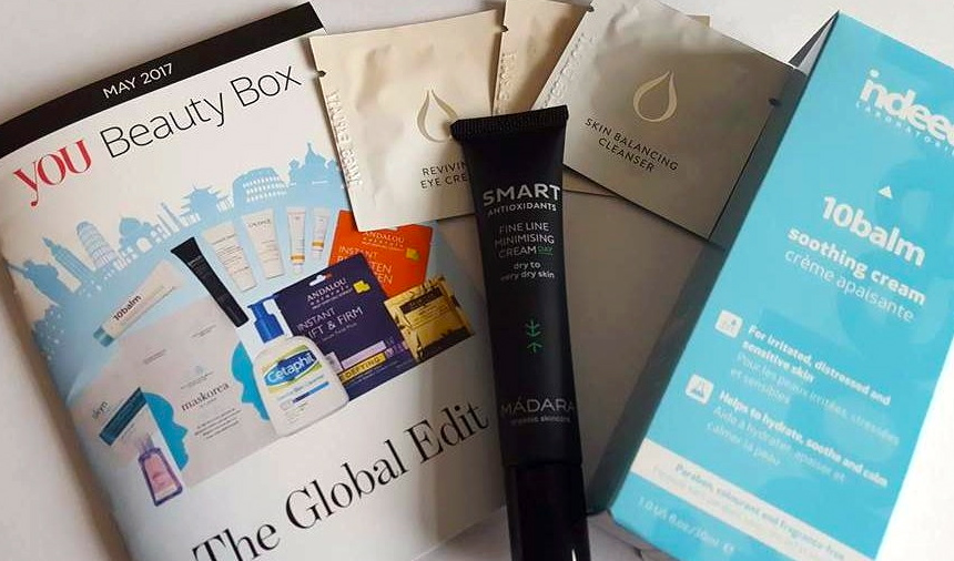 You Beauty Box Review ~ May 2017