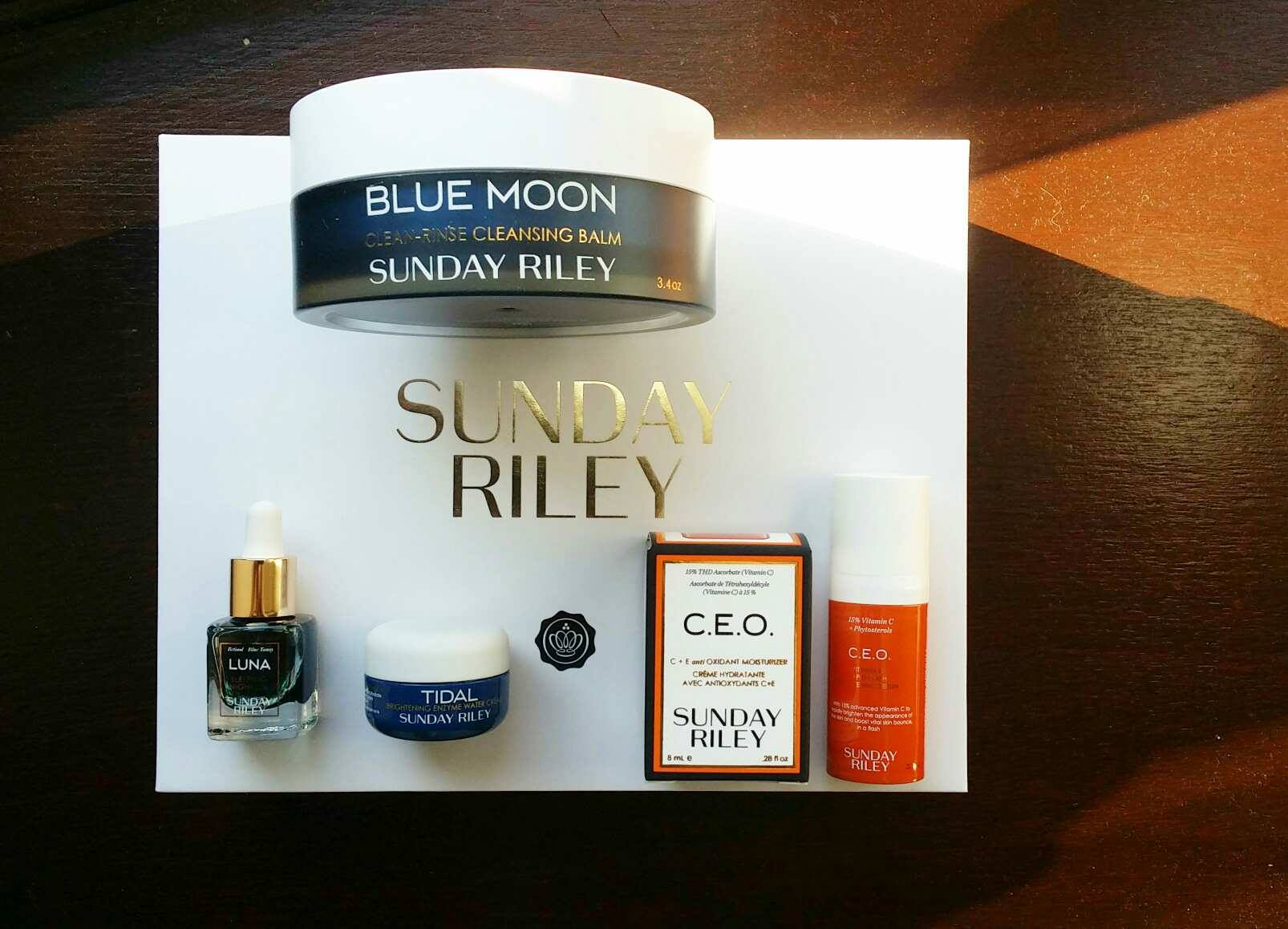 Sunday Riley Skincare Box ~ Glossybox Limited Edition Box Review