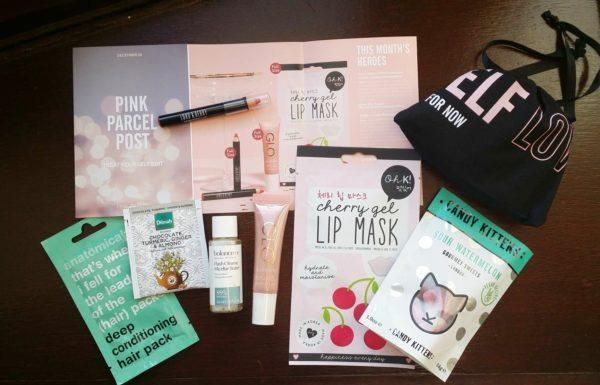 Pink Parcel ~ December 2018 Review