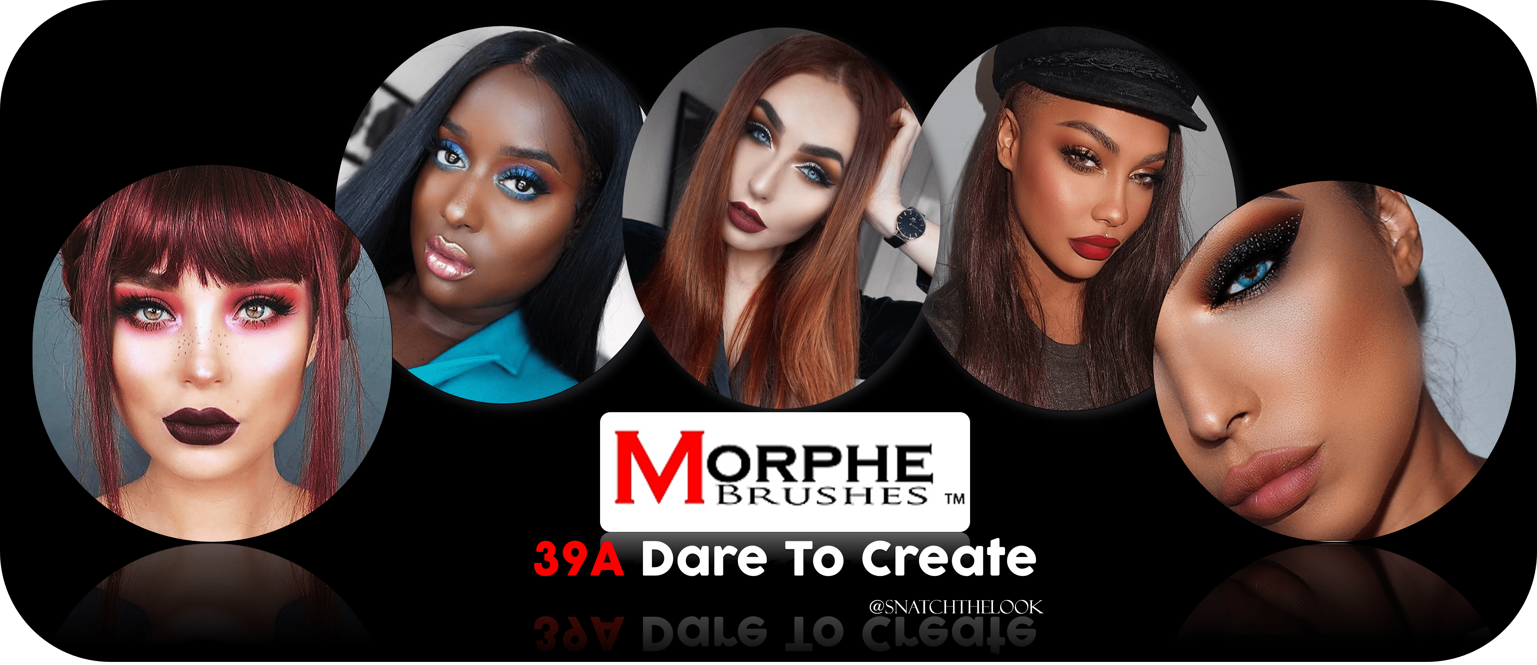 Morphe Brushes 39A Dare to Create Eyeshadow Palette