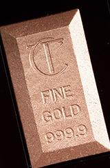 Charlotte Tilbury's Bar of Gold Highlighter Palette