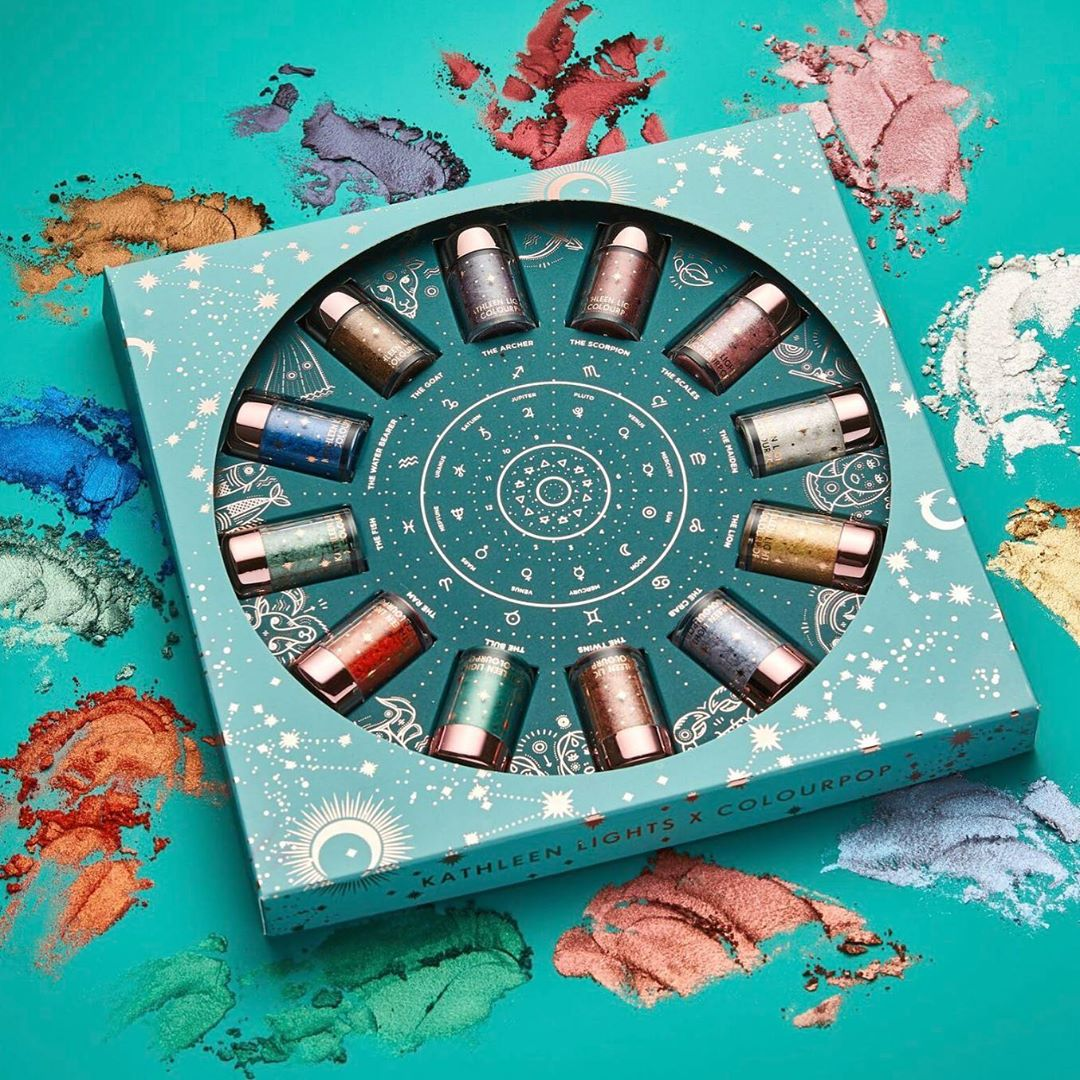 Kathleen Lights x ColourPop Zodiac Loose Pigment Collection