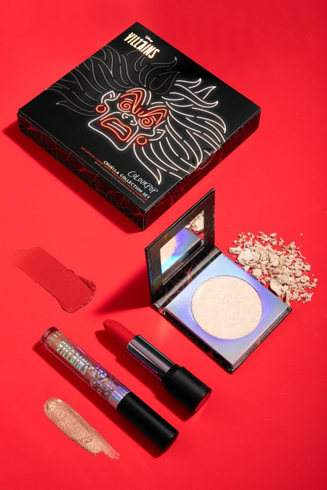 Colourpop Disney Villains Collection Ratings and Reviews