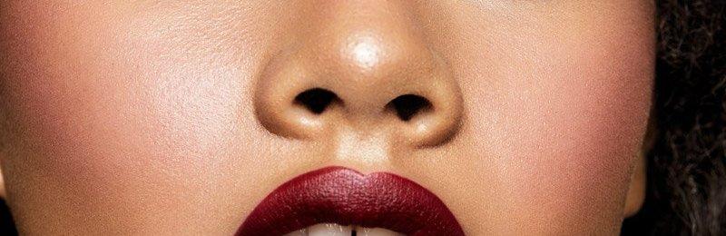Get The Dupe! Pat McGrath Dark Burgundy Luxetrance Lipstick 35MM Colorpop Maybelline