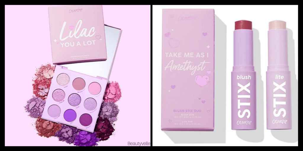 Colourpop Lilac Collection Lilac You A Lot