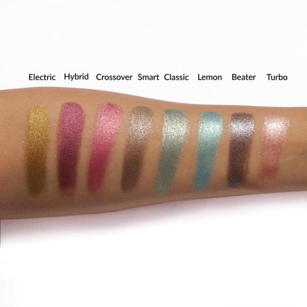 The Balm Petal To The Metal Shift Into Overdrive Eyeshadow Palette 4