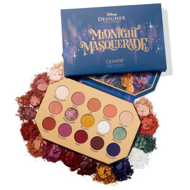 Colourpop Disney Designer Midnight Masquerade Collection