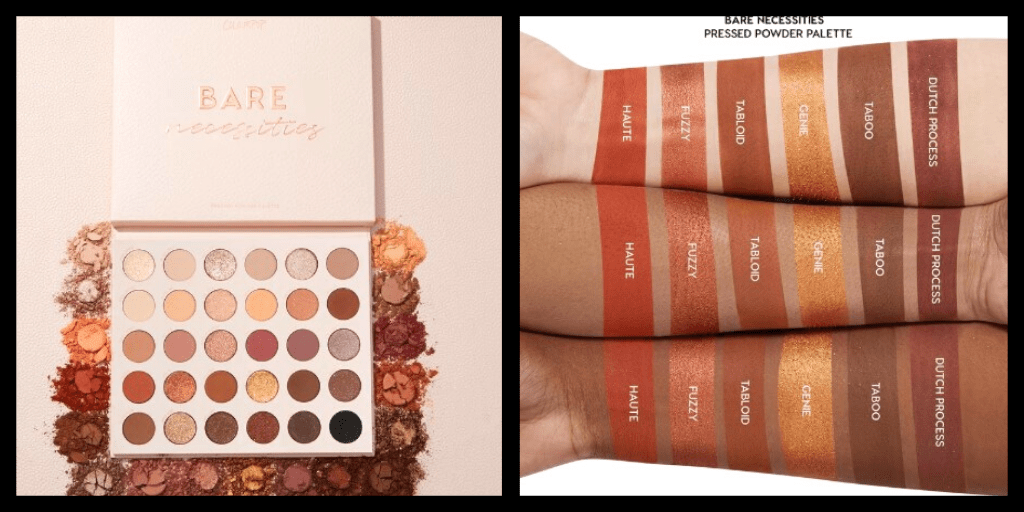 New Makeup! Colourpop Bare Necessities Shadow Palette