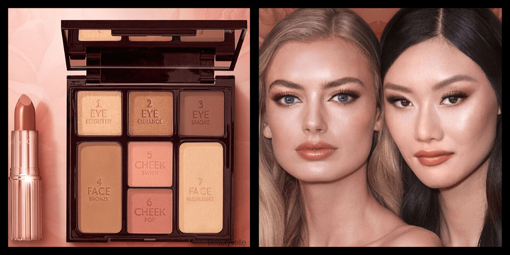 New Makeup! Charlotte Tilbury Stoned Rose Beauty Eye & Lip Kit