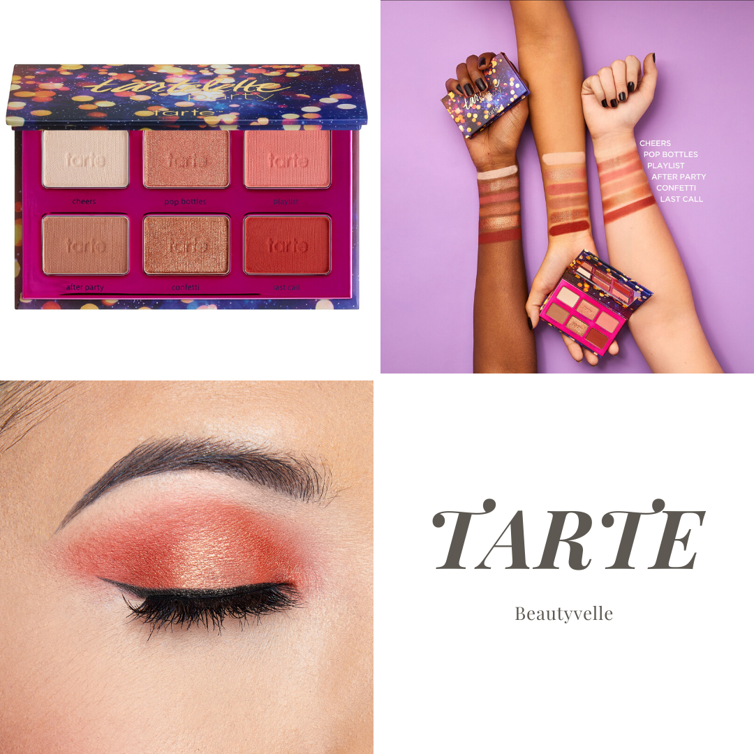 New Makeup! Tarte Tartelette™ Party Amazonian Clay Eyeshadow Palette