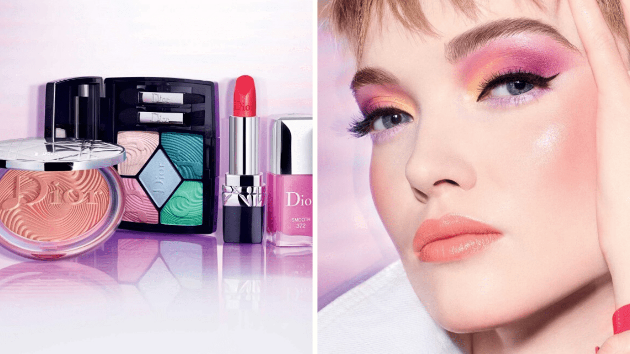 New Makeup! Dior Glow Vibes Spring 2020 Collection
