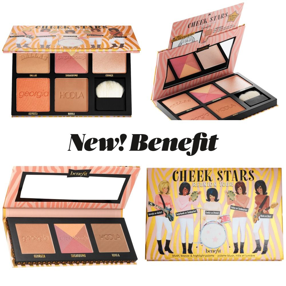 New Makeup! Benefit Cosmetics Cheek Stars Reunion Tour Palettes