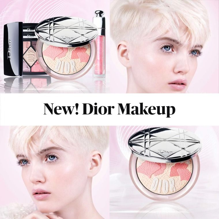 New Makeup! Dior Garden of Light Spring 2020 Collection