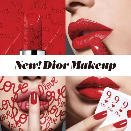 New Makeup! Dior's Rouge Dior - Valentine's Day Limited Edition Lipstick