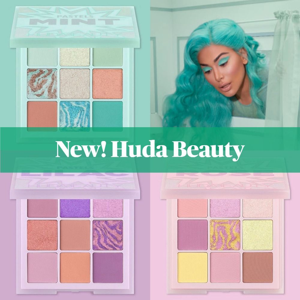 Coming Soon! Huda Beauty Pastel Obsessions Palettes